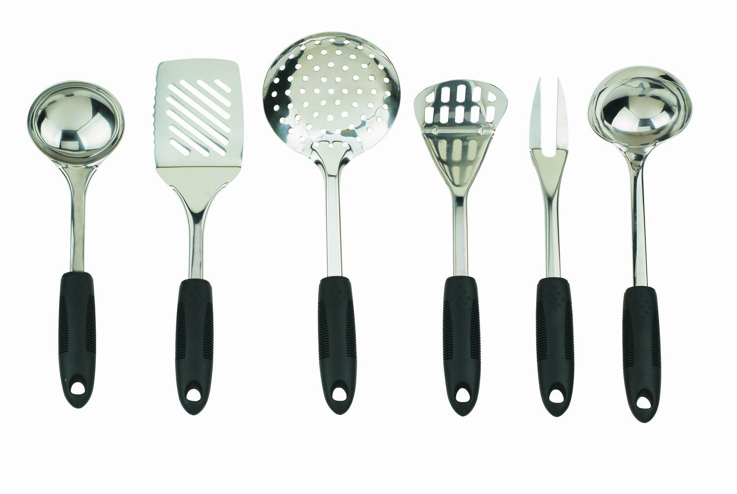 Cream Kitchen Utensils Set