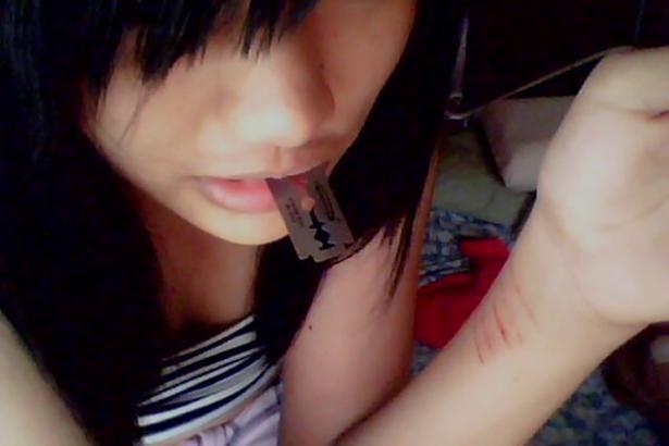 depressed cutting